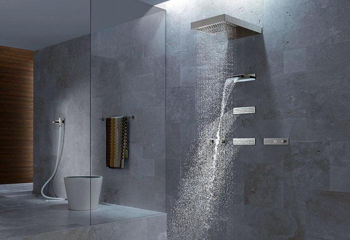 Каскадный душ в домашних условиях