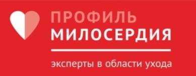 Логотип «МИЛОСЕРДИЕ-ПРО» (Екатеринбург)