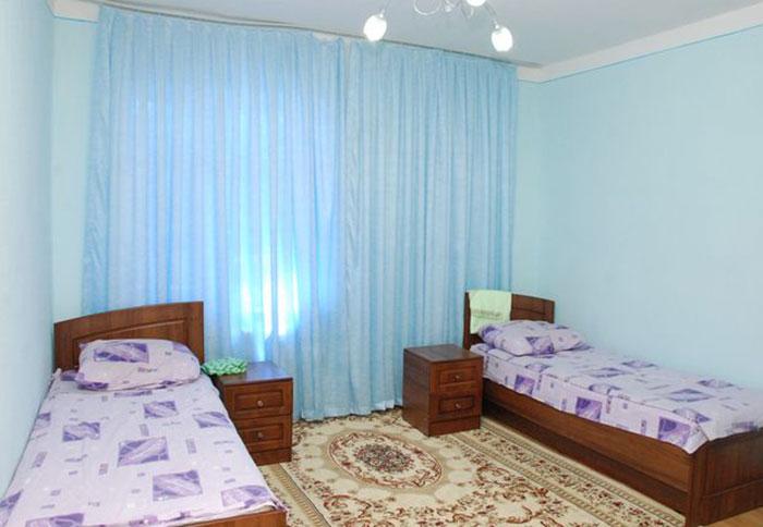 Двухместный номер в санатории «Бустон» (Узбекистан)