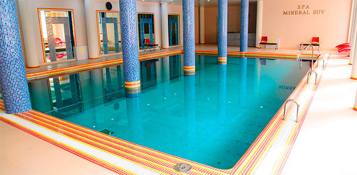 Бассейн в санатории имени М. М. Федоровича (Ташкент)