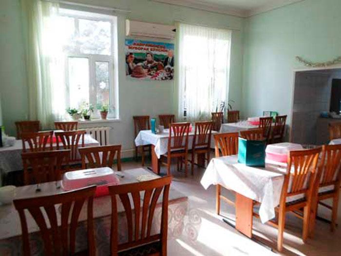 Столовая санатория «Турон» (Ташкент)