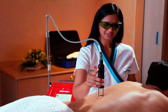 Процедура HILT терапии