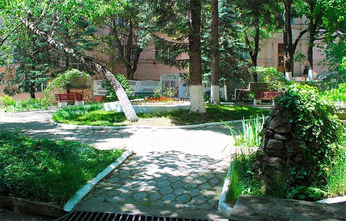 Территория санатория «Здоровье» (Железноводск)
