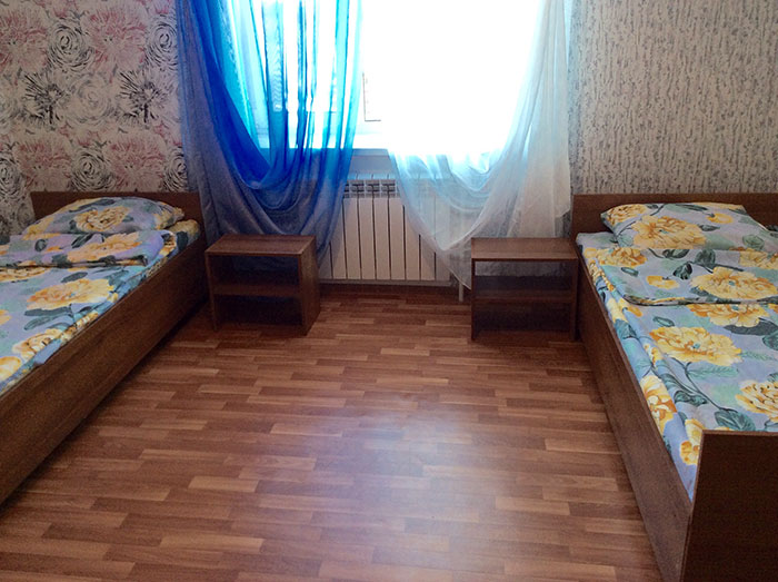 Двухместный номер в пансионате для пожилых «Наш дом» (Красное село)