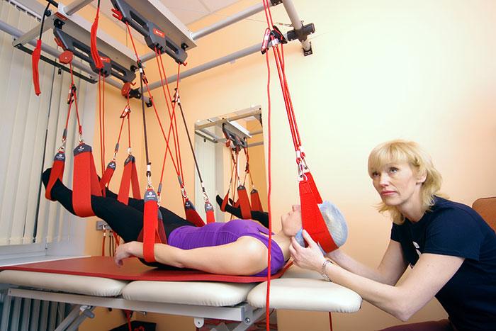 Процедура слинг-терапии