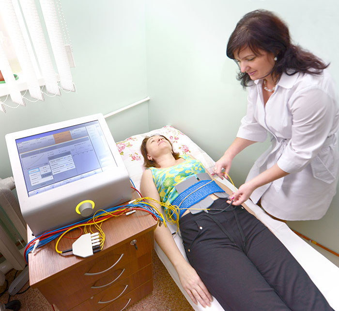 Сеанс высокотоновой терапии