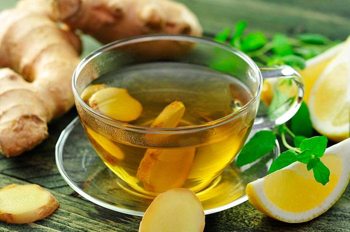 Имбирный чай для лечения ОРВИ