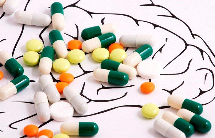 Воздействие лекарственных препаратов на мозговую деятельность
