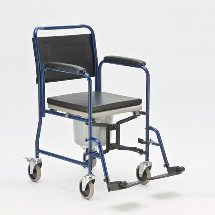 Кресло каталка оснащенная туалетом