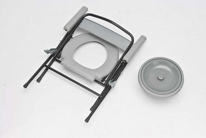Складной стул-туалет для инвалидов