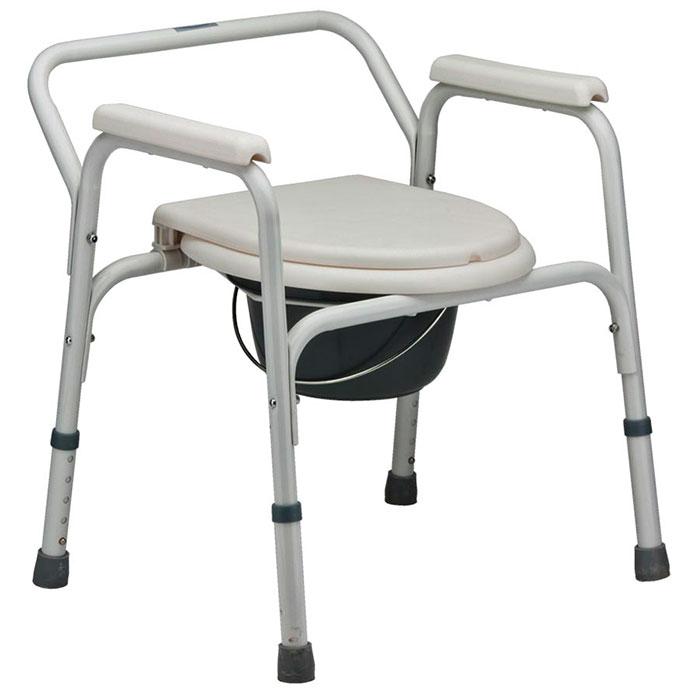 Стационарное кресло туалет для пожилых людей