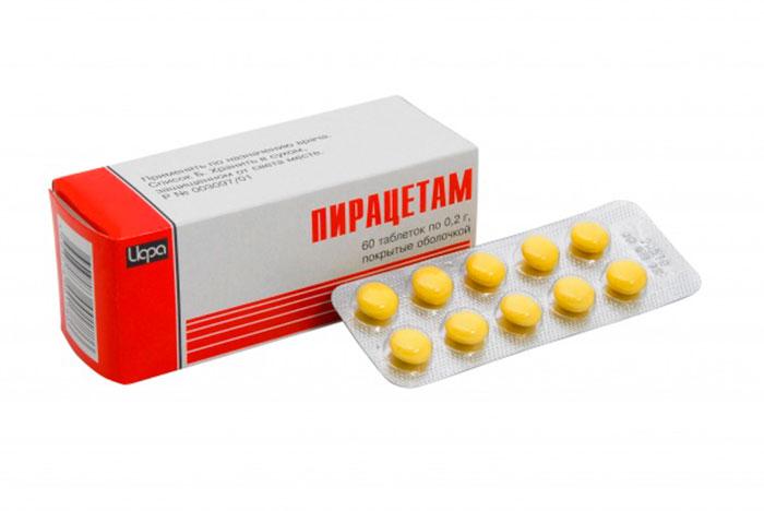 Пирацетам - для лечения старческой энцефалопатии головного мозга