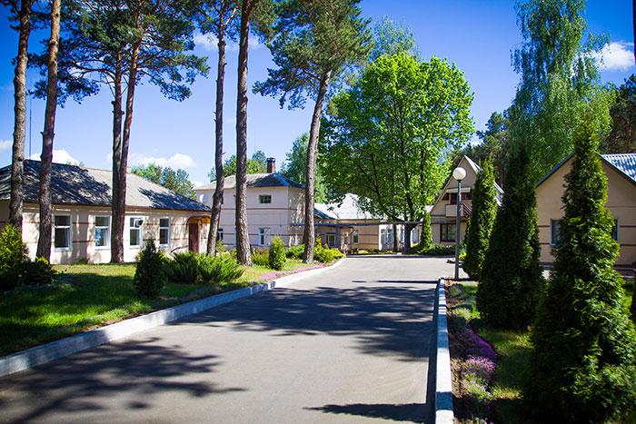 Территория центра заботы «Лепель»