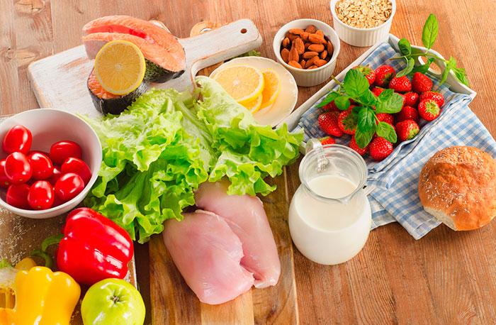 Сбалансированное питания - для поднятия иммунитета