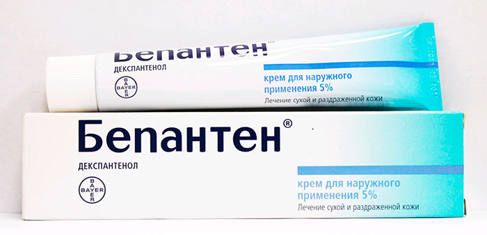 Препарат против высыпания – «Бепантен»