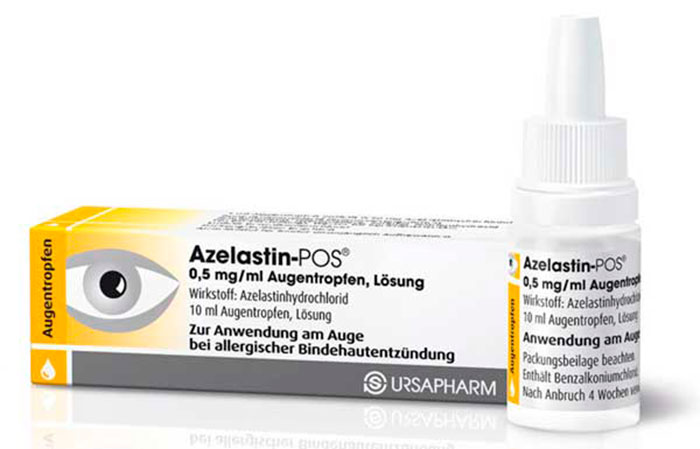 Антигистаминные капли Азеластин