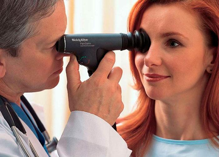 Диагностика ангиопатии сетчатки по гипертоническому типу