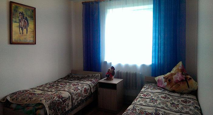 Комната жильцов в пансионате для пожилых «Сосновый бор» (Иркутск)