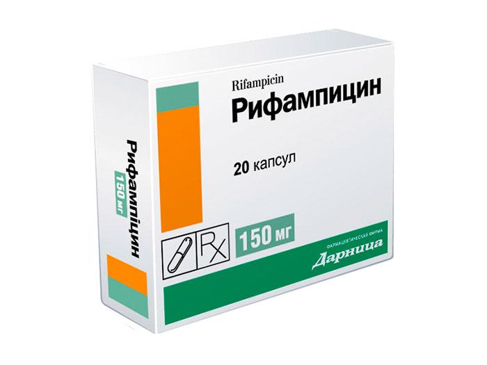 Рифампицин для лечение холецистита