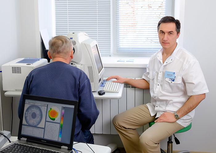 Диагностика отслойки сетчатки у пожилых