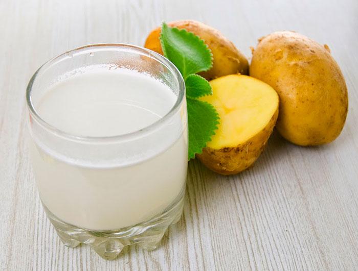 Картофельный сок для лечения панкреатита