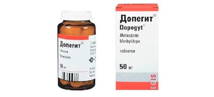 Допегит - для лечения почечного давления