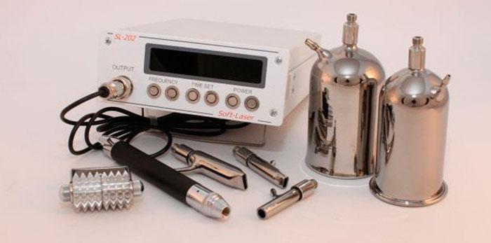 Аппарат для баролазерного массажа