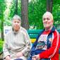 Жильцы в пансионате для пожилых «Теплые беседы» в Люберцах