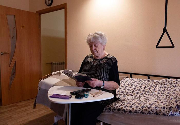 Досуг жильцов в пансионате для пожилых в Пенино
