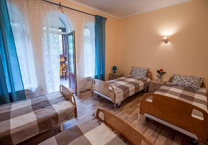 Номер постояльцев в пансионате для пожилых в Пенино