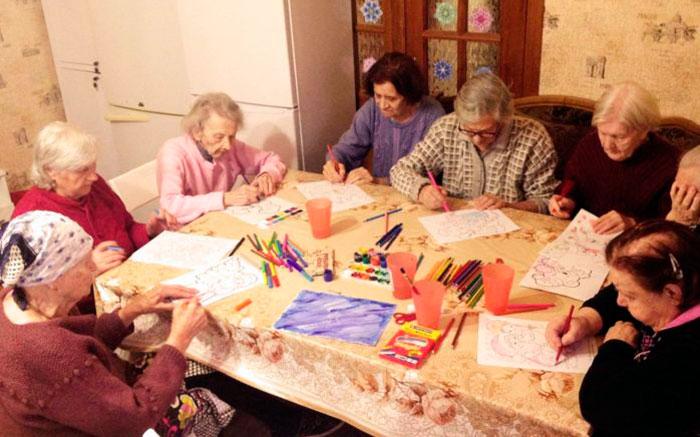 Досуг в пансионате для пожилых и инвалидов в Балашихе