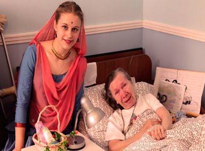 Вологодский дом интернат для престарелых