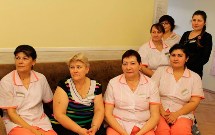 Персонал пансионата для пожилых и инвалидов в Балашихе