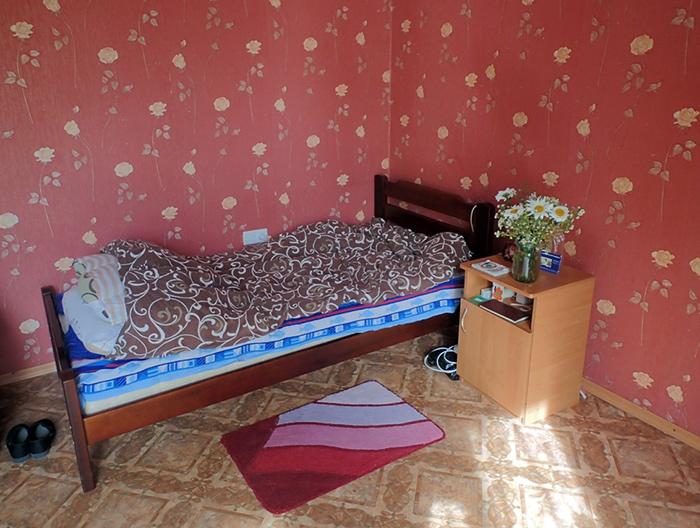 Номер постояльцев в пансионате для пожилых «Забота и Уют» (Харьков)