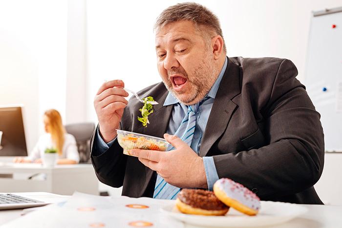 Ожирение - как последствия неправильного питания