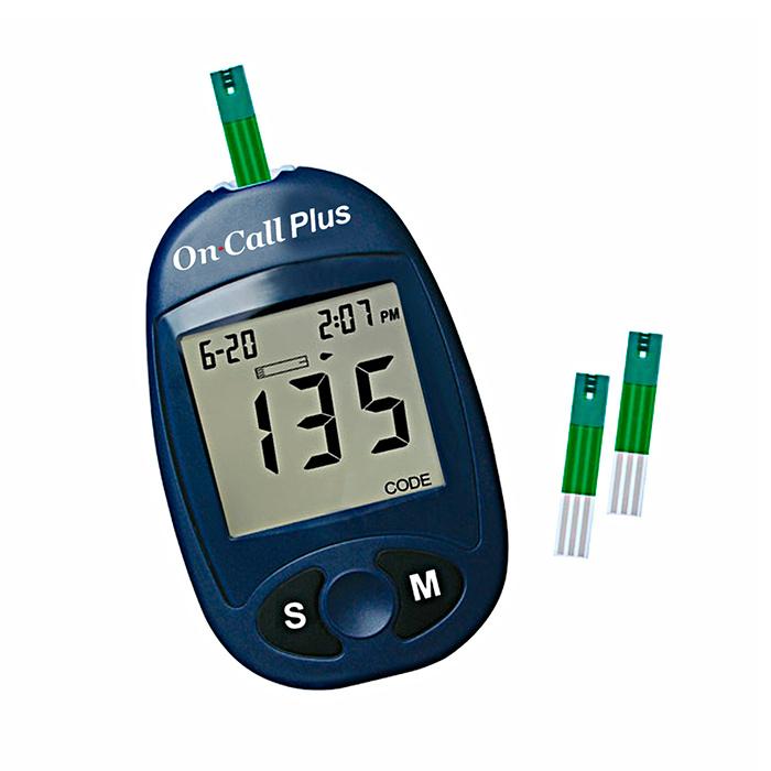 Глюкометр One Call Plus - для контроля сахара в крови
