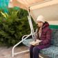 Чтение постояльцев в доме престарелых «Золотая осень» (Одесса)
