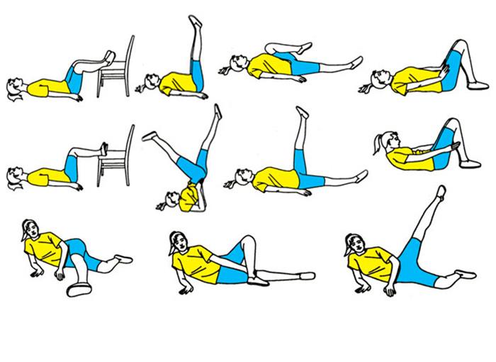 Физические упражнения для укрепления вен на ногах