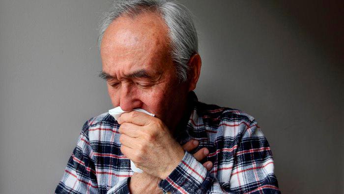 Сильный кашель, один из признаков ХНЗЛ