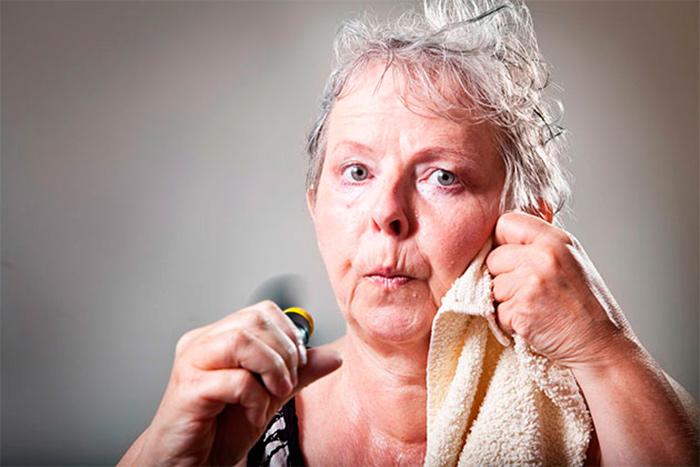 Повышенная потливость в пожилом возрасте