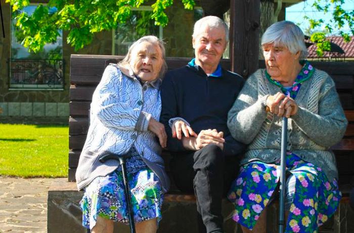 Жильцы пансионата для пожилых «Теплые беседы» Зеленоград-2