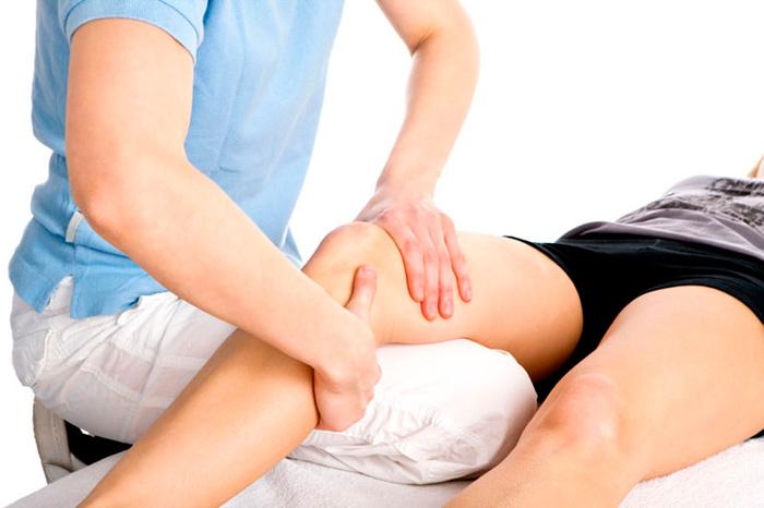 Диагностика бурсита гусиной лапки коленного сустава