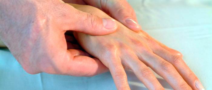 Диагностика бурсита пальцев рук