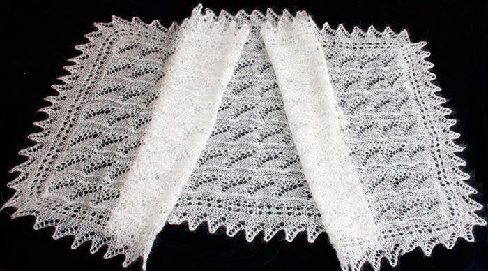 Оренбургский платок станет приятным подарком для бабушки