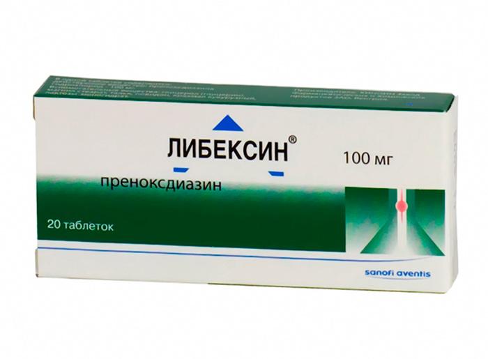 Либексин для медикаментозного лечения спонтанного пневмоторакса