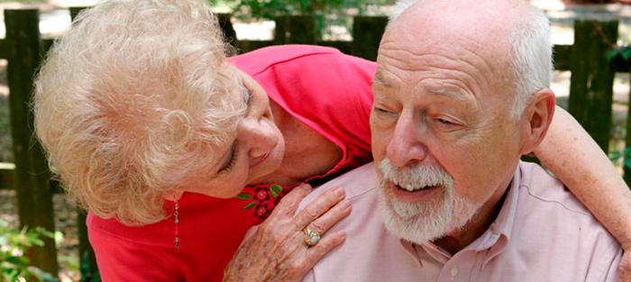 Забота родных один из важных факторов при деменции с тельцами Леви