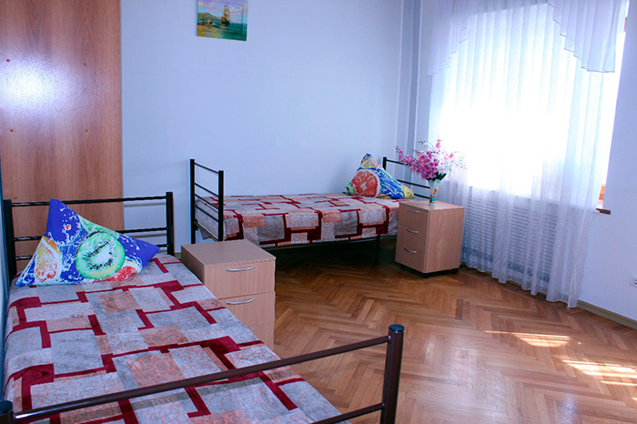Двухместный номер в доме престарелых «Пашковский»