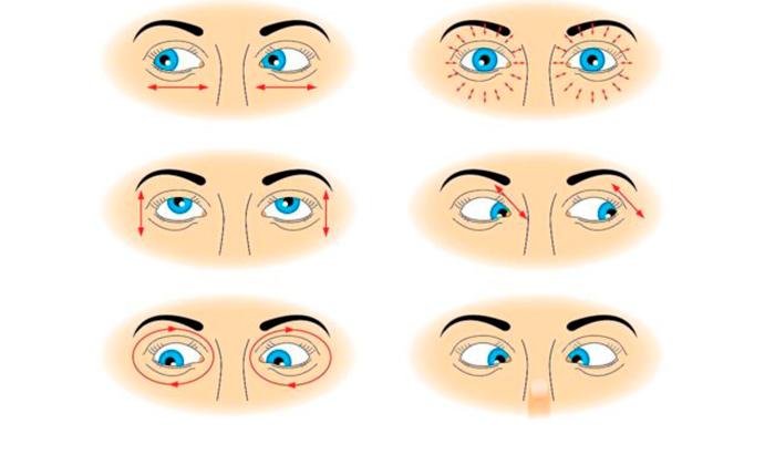 Упражнения по метод Бейтса для восстановления зрения