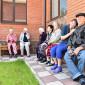 Жильцы в пансионате для пожилых «Долголетие» в Видном