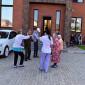 Отдых жильцов в пансионате для пожилых «Долголетие» в Видном